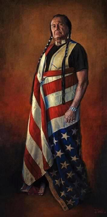 Russell Means the upside down flag in our country means that the nation is  in distress 592c2cd7b1