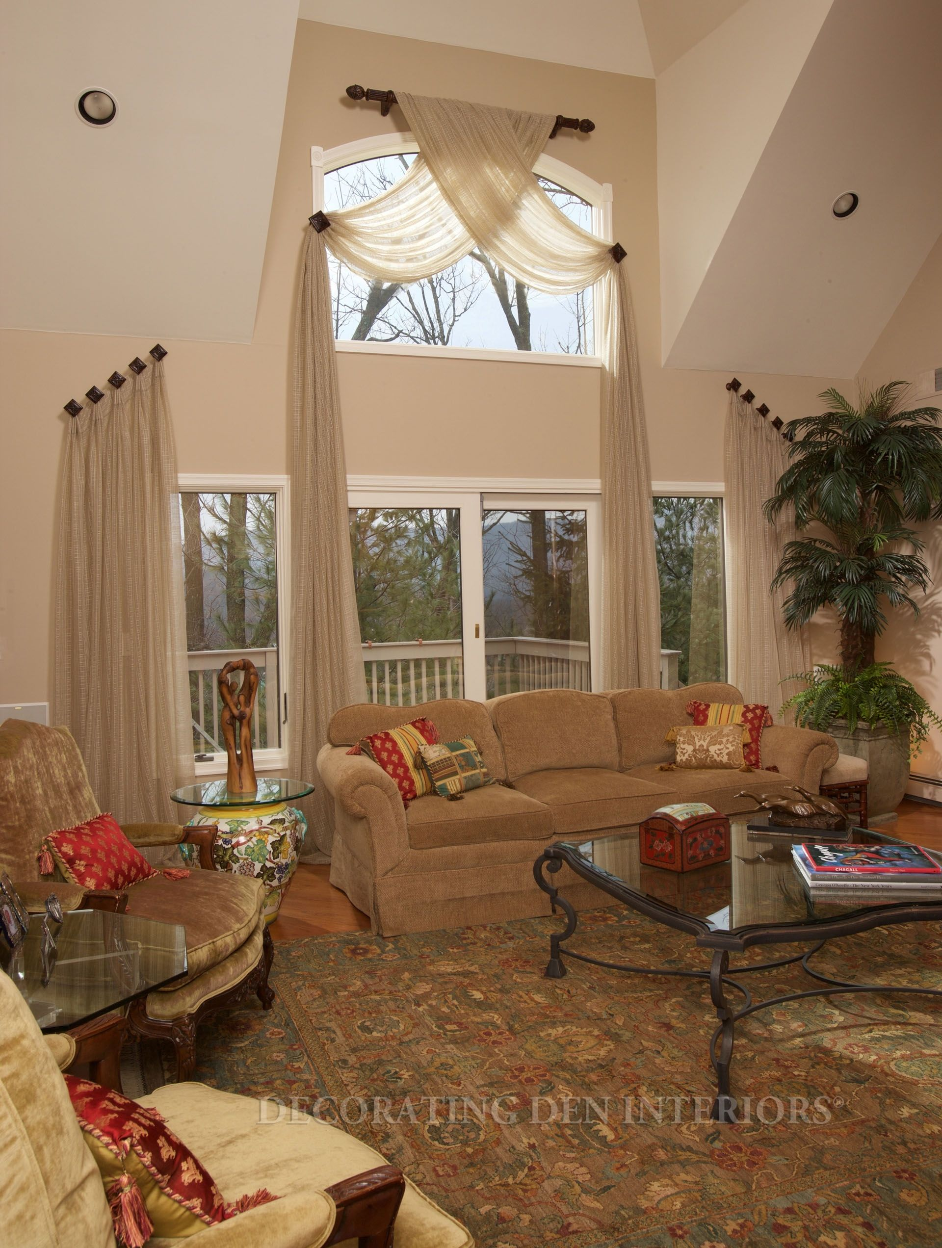 Window treatment ideas for arched windows  pin by eve verran on curtainsdiy  pinterest  dream rooms window