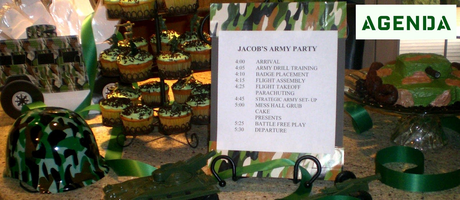 free printable camouflage birthday party invitations%0A Army party agenda    army drill training  badge placement  flight assembly   mess
