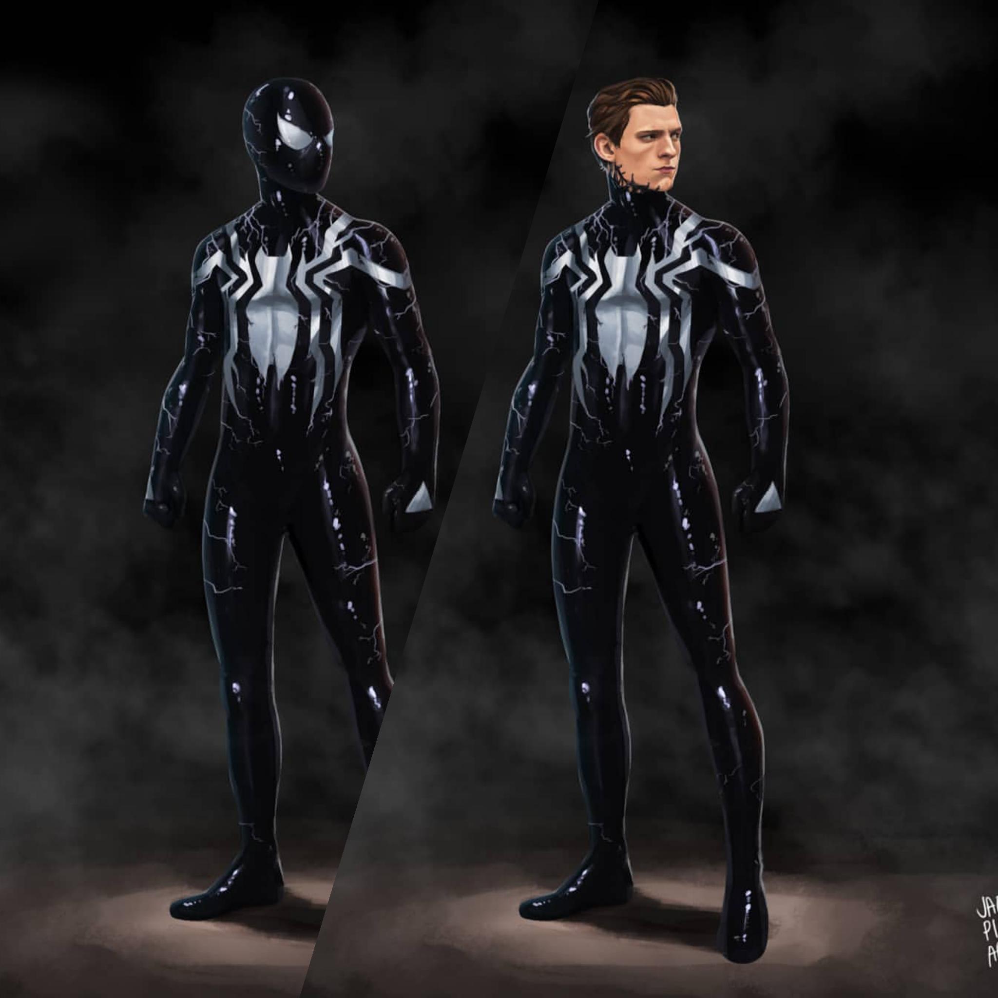 Ex Mcu Symbiote Spiderman Symbiote Spiderman Spiderman Comic Black Spiderman