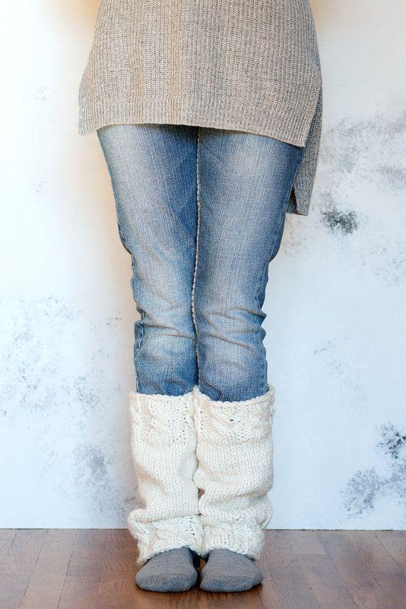 Grace Womens Leg Warmer Knitting Pattern Mother By Bromefields