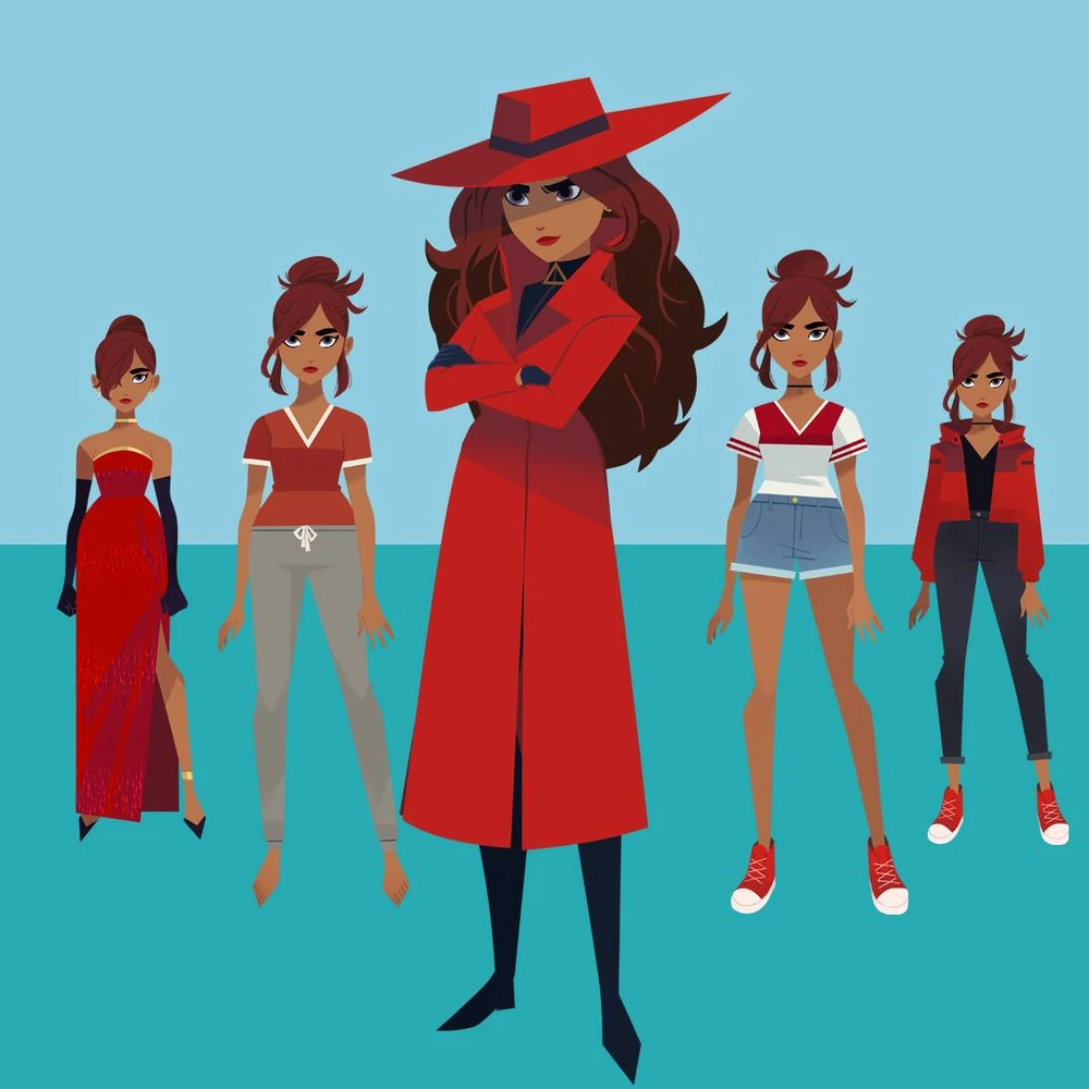 Carmen Sandiego Carmen Sandiego Wiki Fandom In 2021 Carmen Sandiego San Diego Cute Art Styles