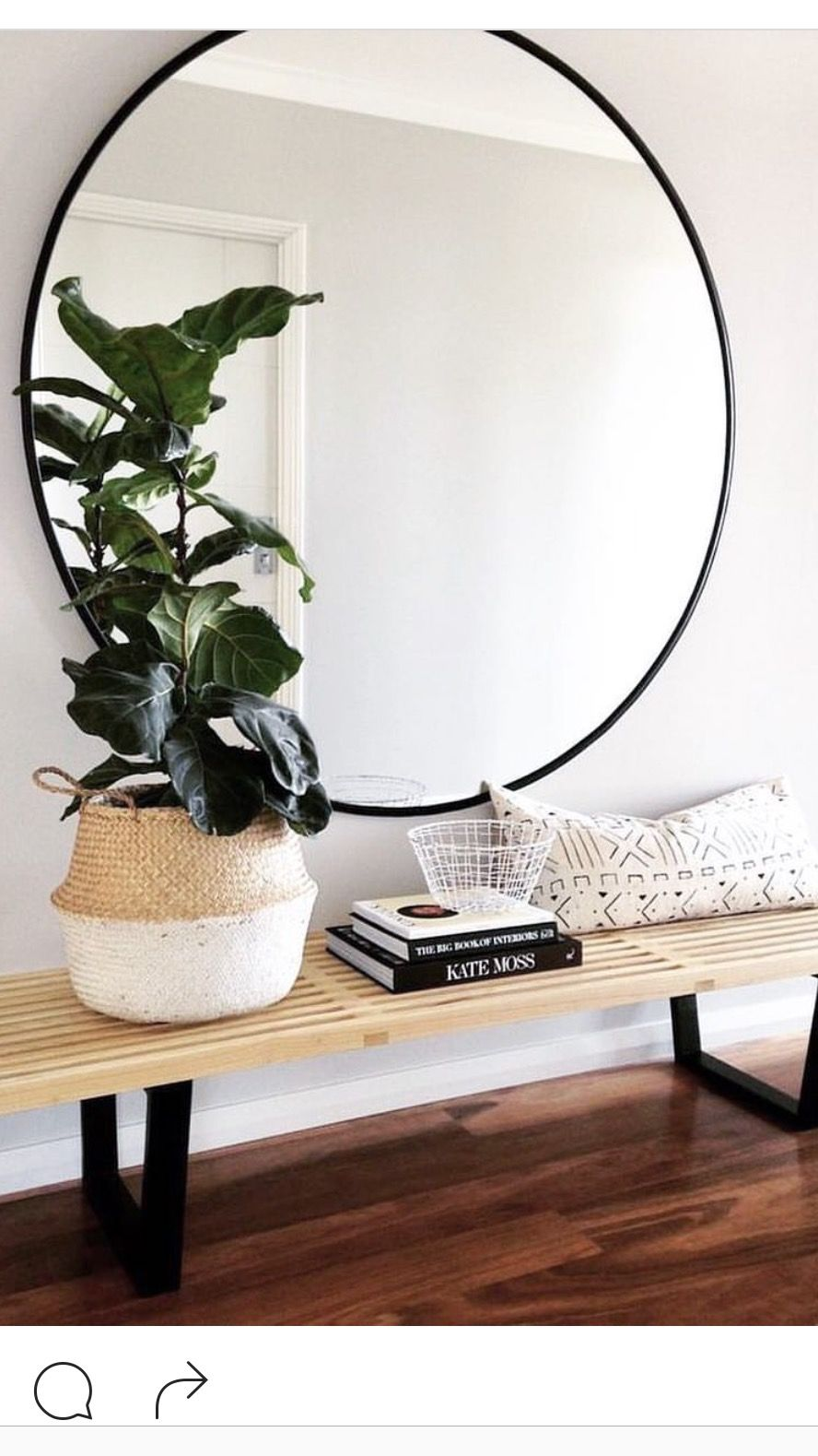 Entryway Mirror Living Room Ideas Pinterest Interiors Hall And House