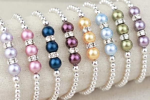 Photo of Pearls of Hope Bracelet | Choose hope A great idea for Christmas …