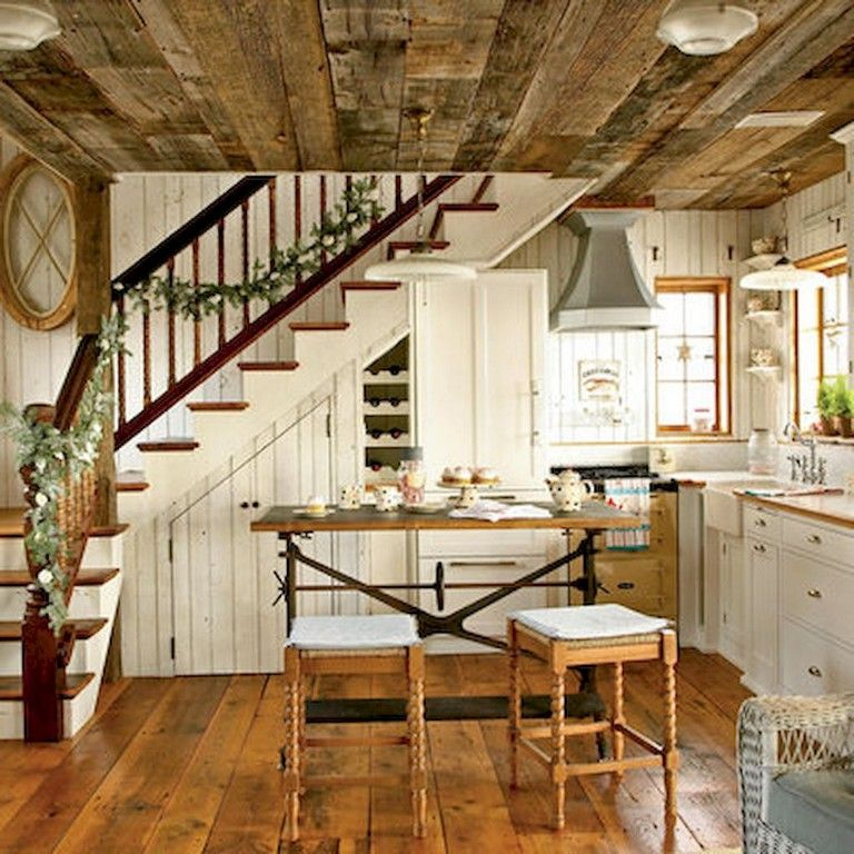 68 Beautiful And Quaint Cottage Interior Design Decorating Ideas Cottage Interiors House Plan With Loft Home