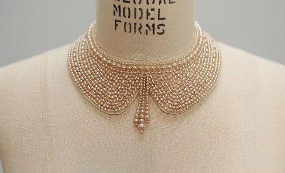 Peter Pan Collar Beaded | Beaded Peter Pan collar | My Style