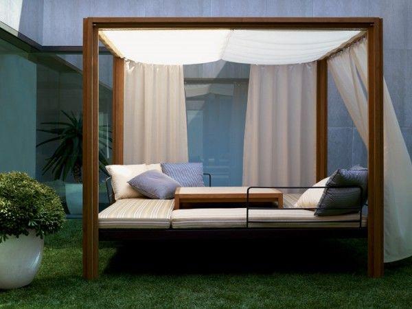 gazebo con letto da giardino | Home | Pinterest | Gazebo e Design