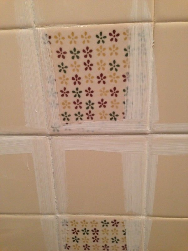 How To Paint Tile By The Learner Observer On Remodelaholic