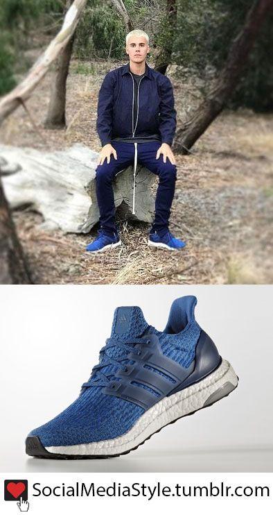 812de5c0245f4 Buy Justin Bieber s Blue Adidas Ultra Boost 3.0 Sneakers