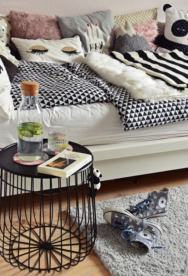 interior teenager m dchen zimmer teen room makeover girlsroom. Black Bedroom Furniture Sets. Home Design Ideas