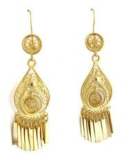 209b41b0a9fa Oaxacan Filigree Earrings