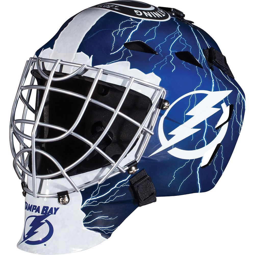 Franklin Youth Tampa Bay Lightning Gfm 1500 Street Hockey Goalie Face Mask Goalie Mask Franklin Sports Tampa Bay Lightning