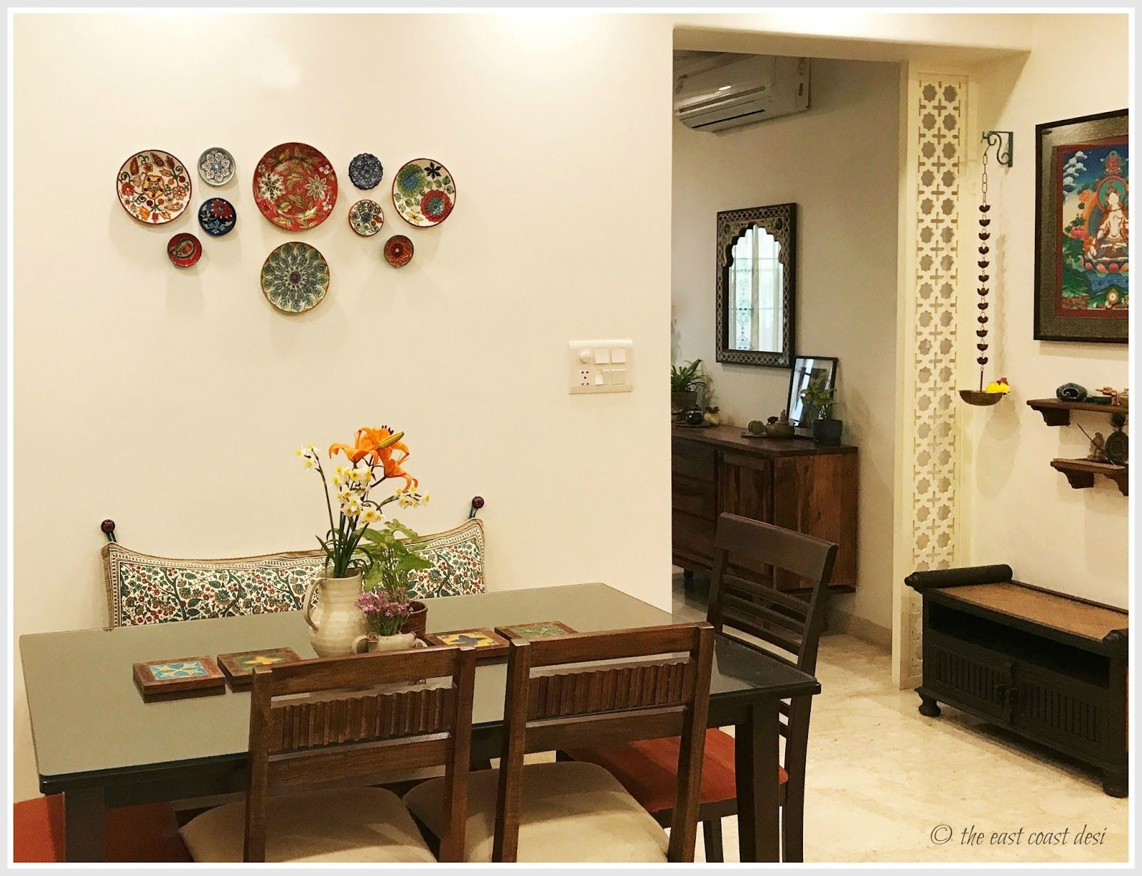 Indian Inspired Wall Decor Colorful Indian Homes Nice Ideas And Cushion Covers