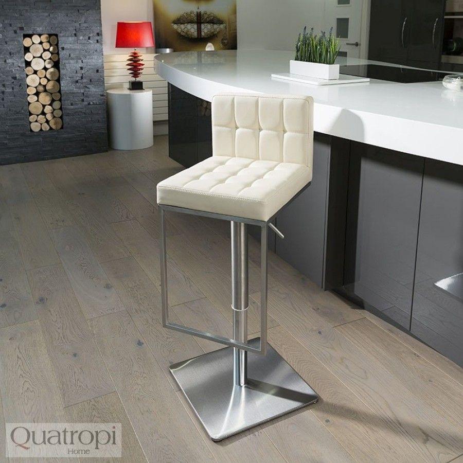 Pleasant Luxury Cream Kitchen Breakfast Bar Stool Seat Height Squirreltailoven Fun Painted Chair Ideas Images Squirreltailovenorg