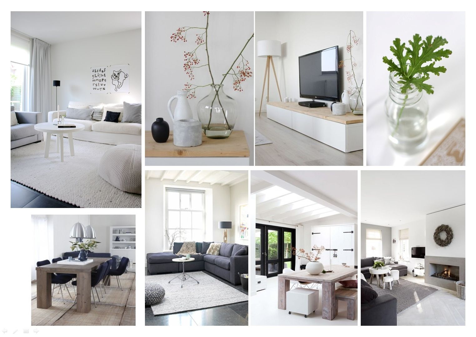 landelijk moderne woonkamer - Google zoeken | Moodboard interieur ...