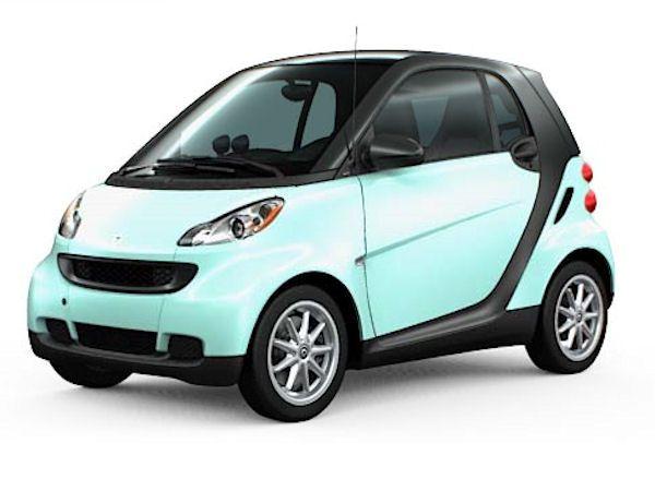 If I changed my Smart car panels I would do aqua So cute