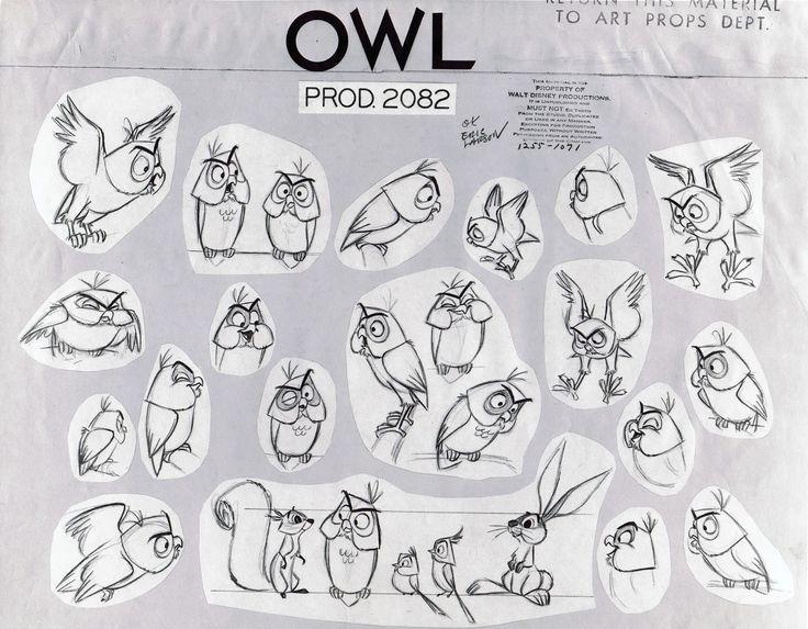 Character Design Walt Disney : Walt disney animal characters development