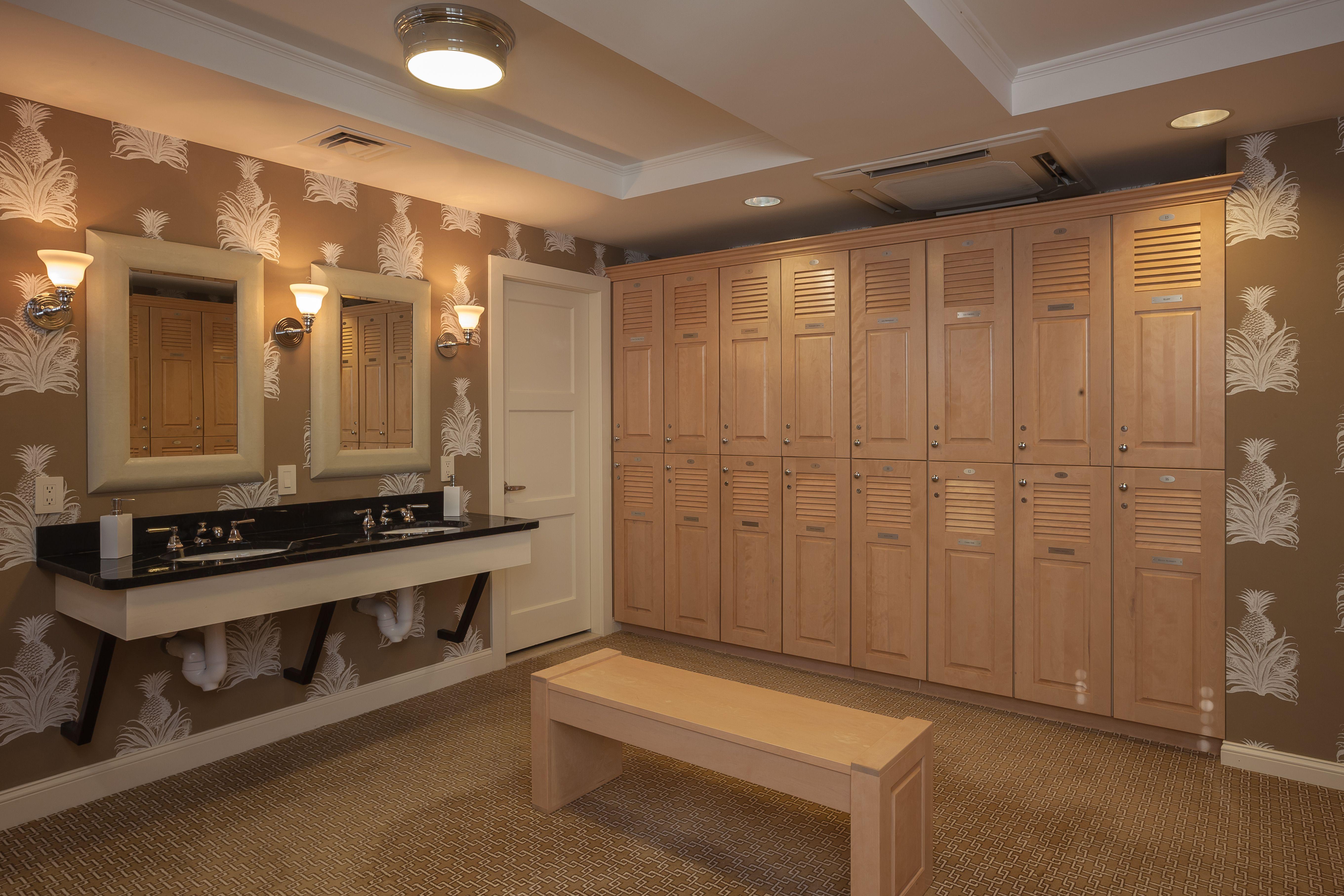 Millbrook Golf and Tennis - Women\'s Locker Room | Club Houses ...