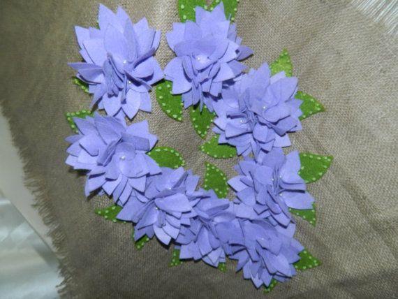 Purple Hydrangeas Burlap Tablecloth  Turkish Home by SnovvQueen