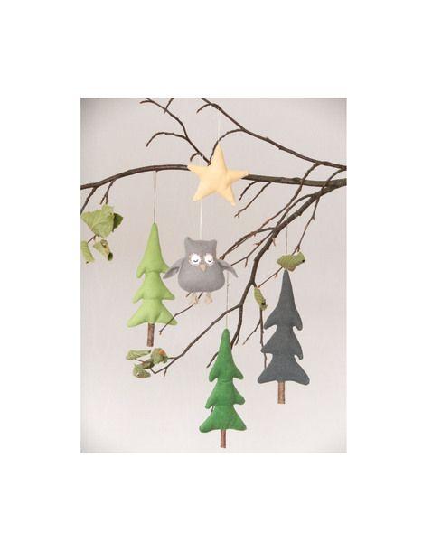 Herbstl. Potpourri mit Stern Herbstdeko Wald Eule von uggla deko mit eigensinn auf DaWanda.com