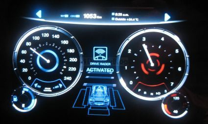 Epsons Cool Looking OLED Car Dashboard OLED Pinterest - Cool car dashboards
