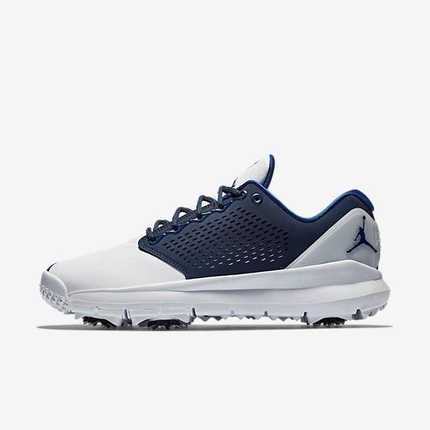 73893646ca58 Jordan Trainer ST Golf Shoes White Obsidian Deep Royal Blue Sz 10.5   fashion  clothing  shoes  accessories  mensshoes  athleticshoes (ebay link)