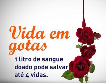 """Check out new work on my @Behance portfolio: """"Dia do Doador de Sangue"""" http://be.net/gallery/31550909/Dia-do-Doador-de-Sangue"""