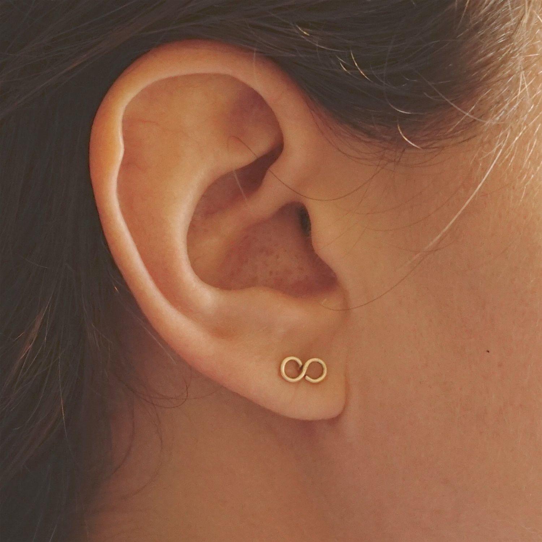 Graduation Gifts Everyday Earring Sterling Silver Infinity Earrings Minimalist Earring Infinity Earrings Infinity Jewelry