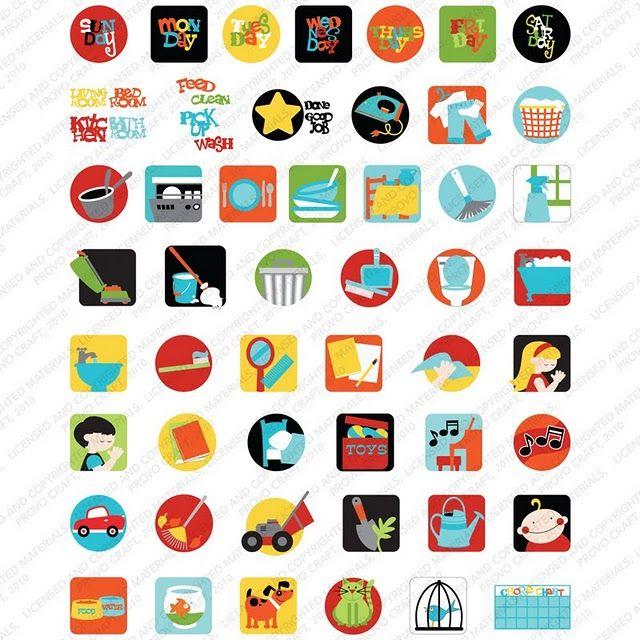 Printable chore graphics crabby cakes blog new cricut lite