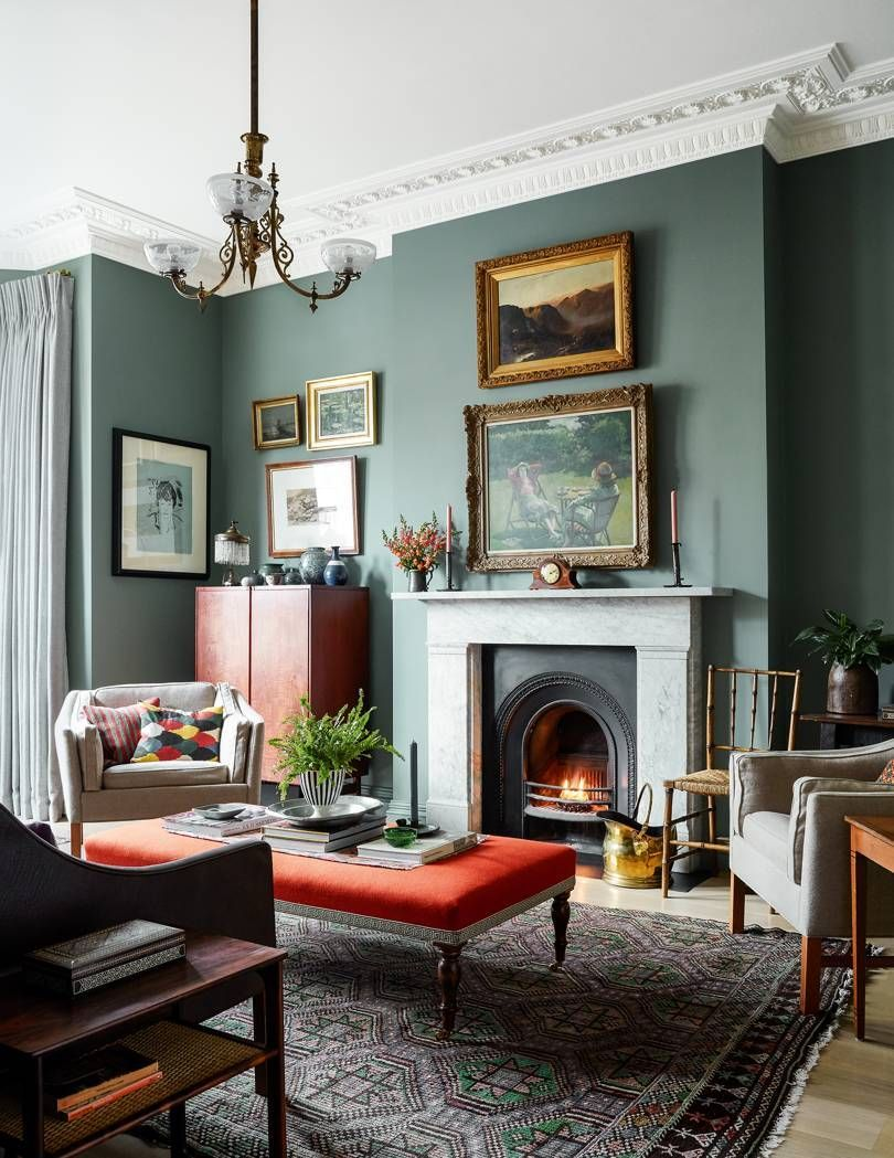 Interior Ideas Living Room Paint Colours Interiordesignideas Interiordecoration Interi Farrow And Ball Living Room Victorian Living Room Living Room Paint