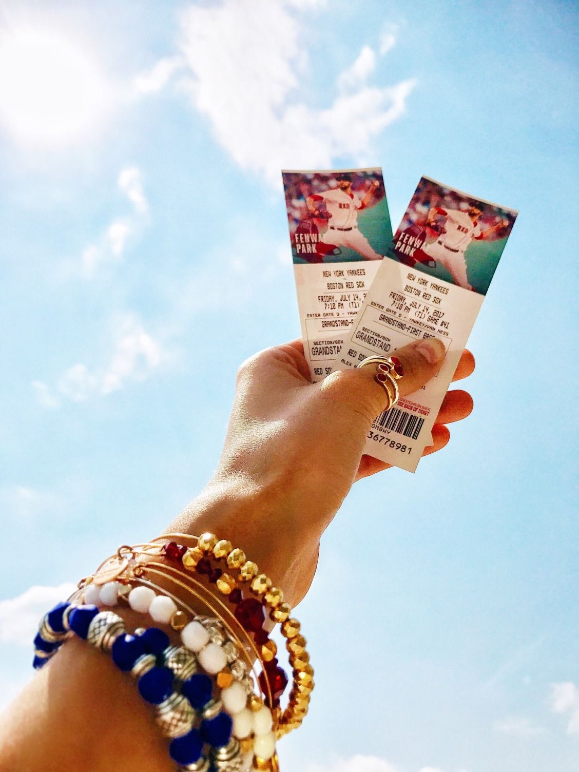 Check out our Twitter [UN: @alexandani] for a chance to win Boston Red Sox tickets!