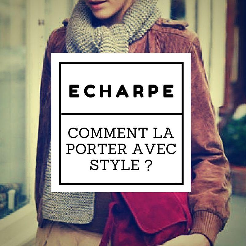 d1a5f10371ad Comment bien porter une écharpe pour femme     Style - silhouette H ...