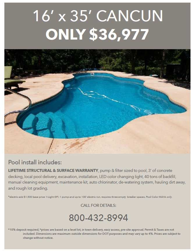 The Aqua Group Pools & Spas | Swimming Pool Specials from Aquamarine ...