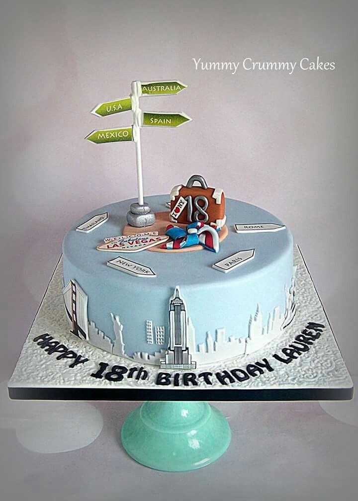 18th Birthday Cake Tortas Pinterest 18th Birthday Cake