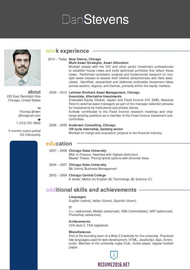 New Resume Format Latest resume format, Professional resume
