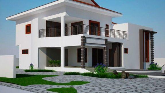 House Plans Ghana Ghana House Plans Ghana Building Plans Ghana Bungalow House Plans House Design Residential Building Design Modern house plan ghana
