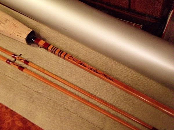Cw Sam Carlson 6ft 3wt Quad One Of Only 4 Rods Bamboo Fly Rod Bamboo Rods Fly Rods