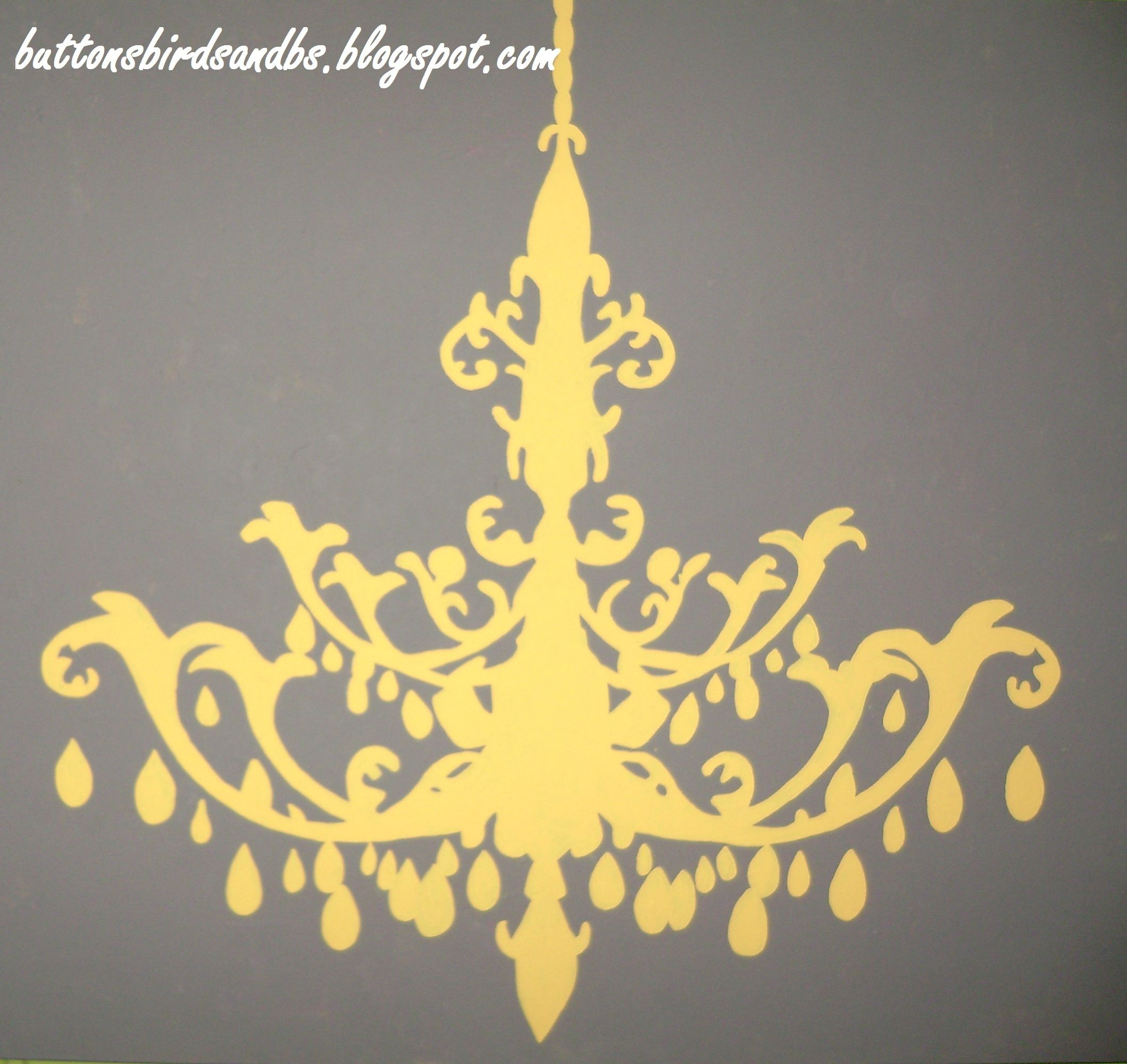 detail of chandelier painting Brought to you by ME – Painting of Chandelier