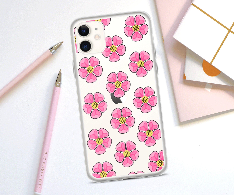 iphone 11 pressed flower case