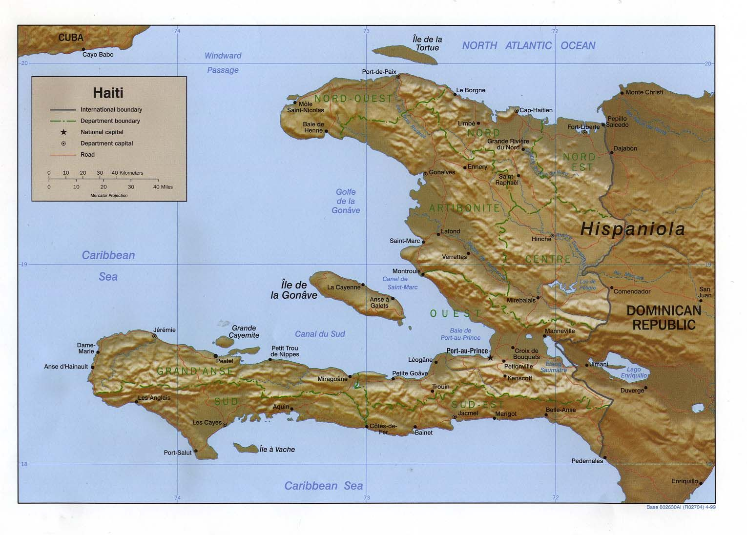 24 best haiti maps images on pinterest maps cards and map of haiti great topographical map of haiti gumiabroncs Choice Image