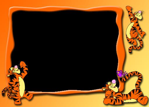 marcos de fotos de winnie de pooh y tiger marcos gratis para