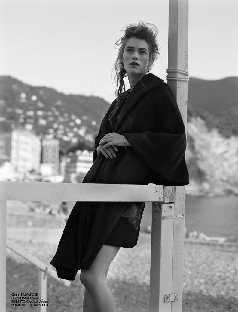 Mathilde Brandi In 'Oraquidea Negra' By Federica Putelli For Elle Mexico November 2014