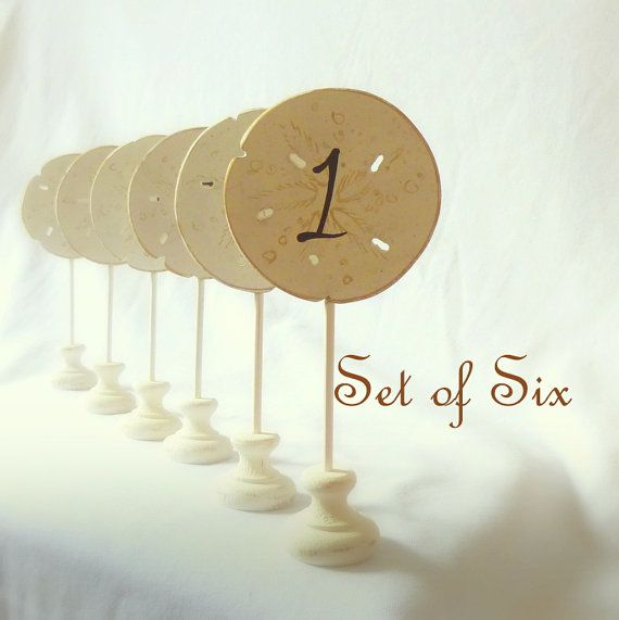 Wedding Planning For A Beach Set Up Beach Wedding Table Numbers