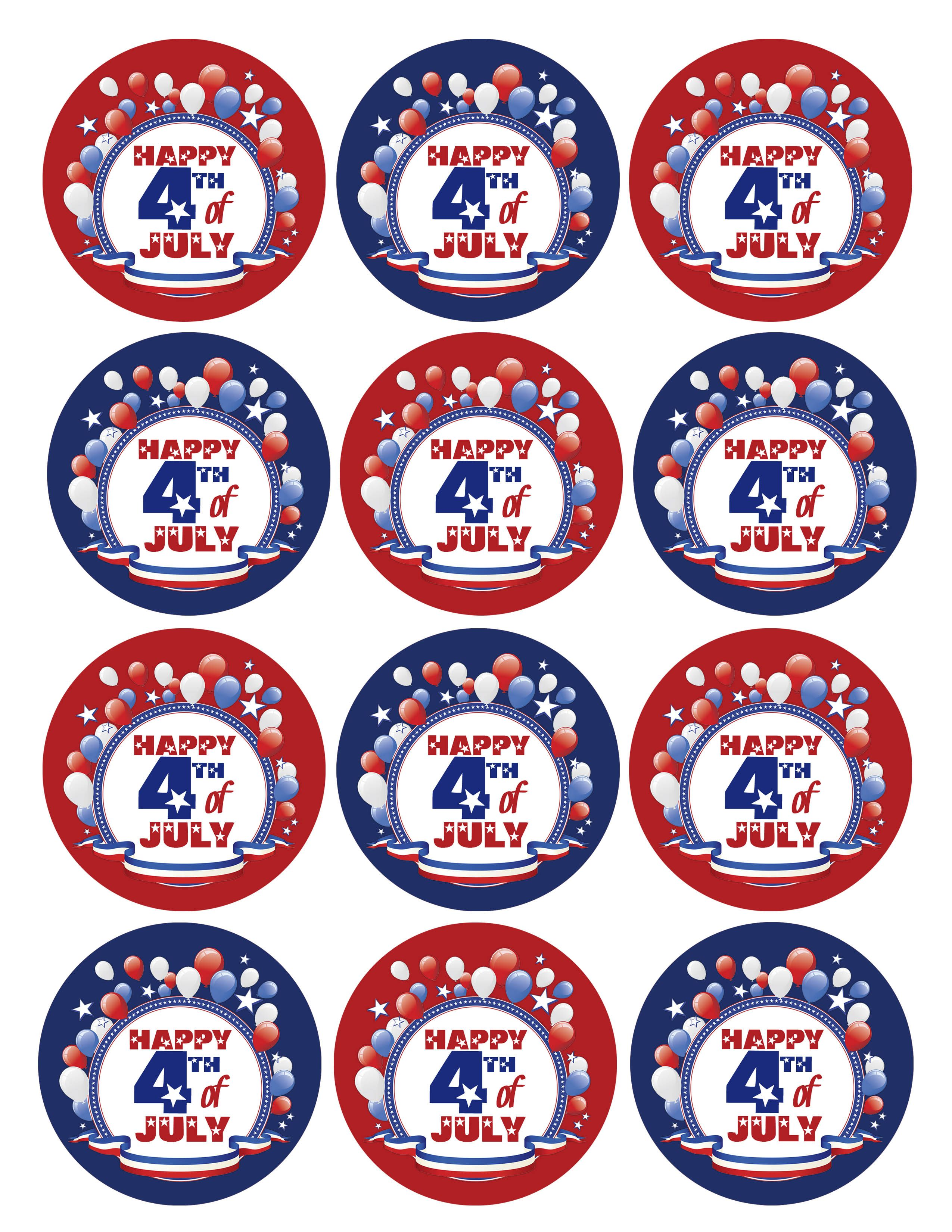 4th Of July Free Printables 4th Of July July Fourth Of July