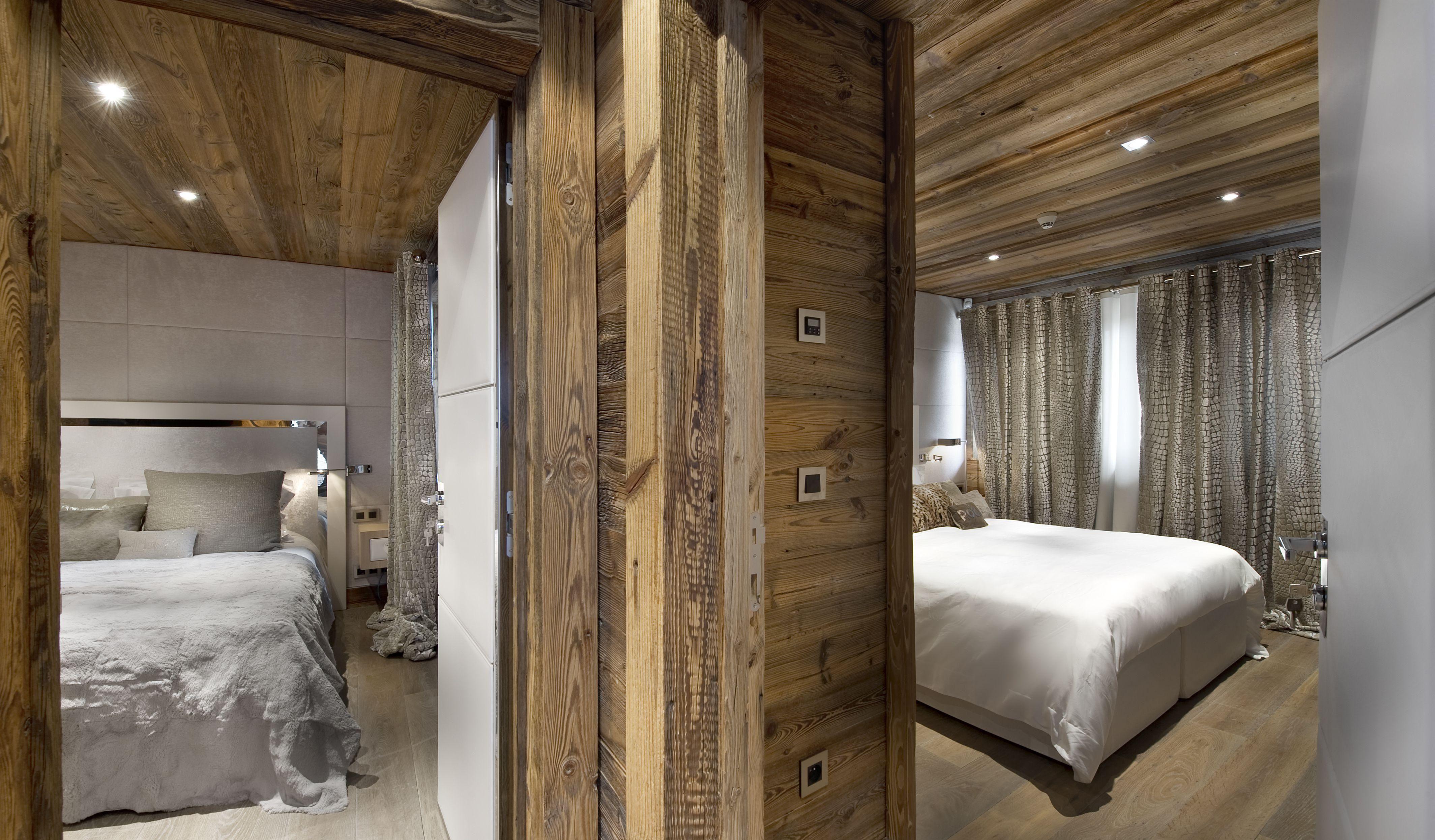 chalet eden courchevel luxury chalet cimalpes chambre interior design snow