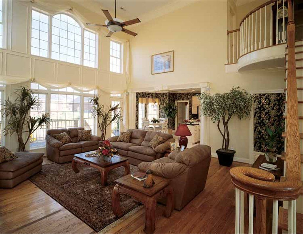 Traditional Style House Plan - 4 Beds 3.5 Baths 2869 Sq/Ft Plan  929-329