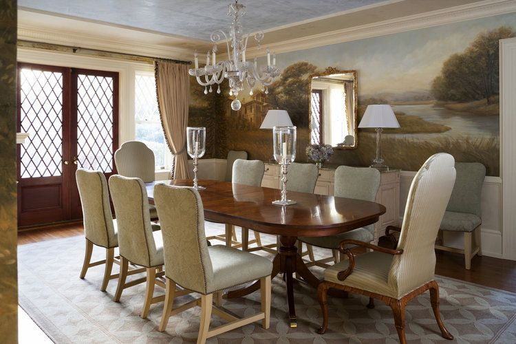 Wendy Lloyd Interior Design Princeton NJ Residence Tudor Style