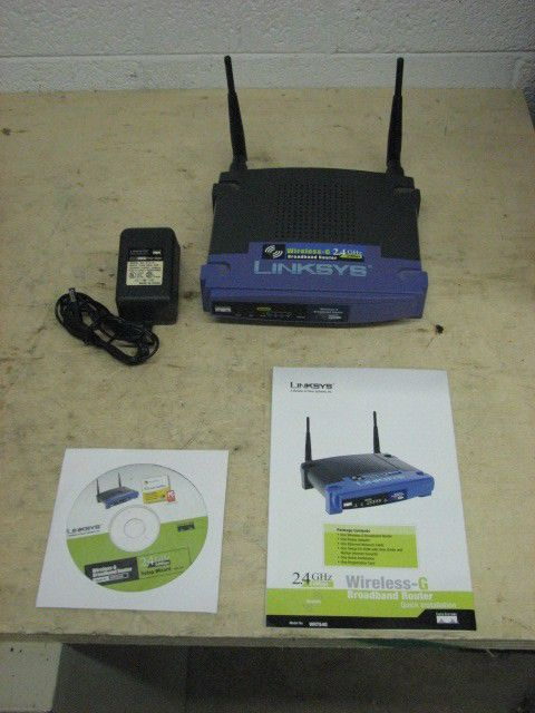 Details about LINKSYS WRT54G Wireless G Broadband 2 4 Ghz WIFI