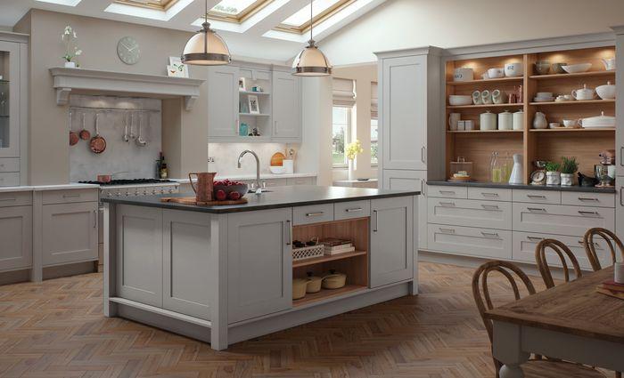 ▷ 1001 + idées déco tendance pour l\u0027aménagement d\u0027une cuisine gris