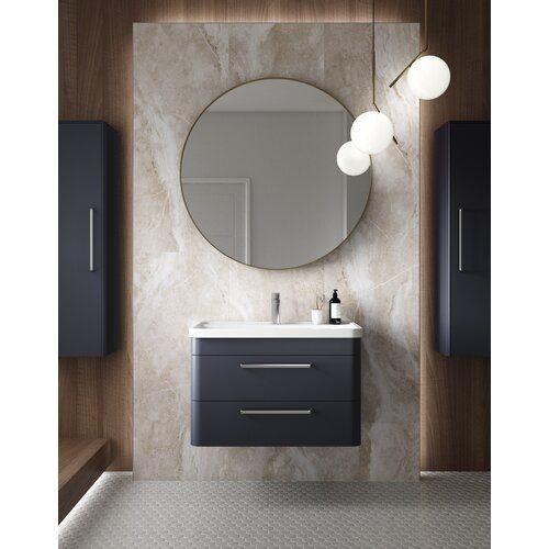 Hudson Reed Solar 800mm Bathroom Furniture Suite Wayfair Co Uk In 2020 Fitted Bathroom Furniture Bathroom Furniture Basin Vanity Unit